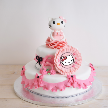 Tort Pisicuta Hello Kitty