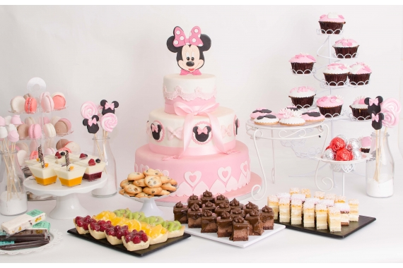 Candy Bar Botez Minnie Mouse